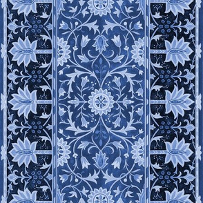 William Morris ~ Turkish Rug ~ Cobalt