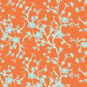 Almond Branch - orange