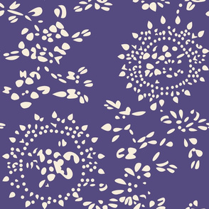 China Pattern - purple
