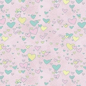 Fairy Hearts Pink