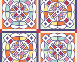 Rrfour-square_treble-sized-heavier-stroke-spoonflower-cheater-quilt-stained-glass-window-live-traced-b_w-constructed-motif-from-16-color-small-naked-spray-of-red-roses-pa072137-as-p4g-rotated22-colorway-2_with_sashing_thumb