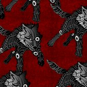 Steampunk_wolfpack_blackwolves_on_red__textured_shop_thumb