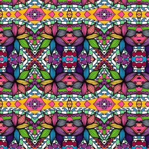 Tribal Flowers