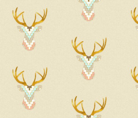 Rrrchevrondeerwithgoldhorns_shop_preview