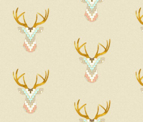Rrrrrchevrondeerwithgoldhorns_shop_preview