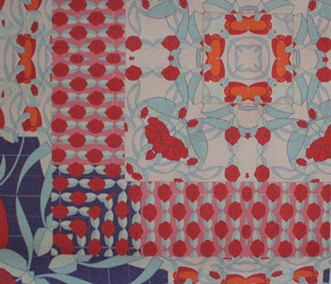 rosy quilt