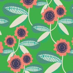 retro flora 2