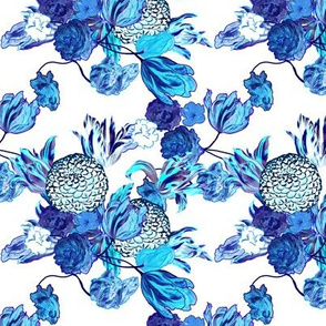 Blueming Flowers! Wee