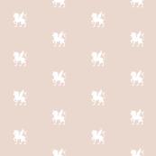 Unicorn Pegasus Ecru
