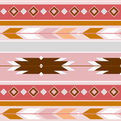 South West Desert Ochre in Pink