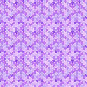 Mermaid Scales Purple Anenome, Mini
