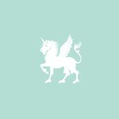 Unicorn Pegasus Seafoam