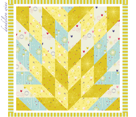 Dandelion Wine  fabric by violet's_pet_spider on Spoonflower - custom fabric