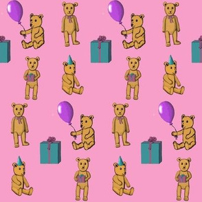 Bear Party in Pink