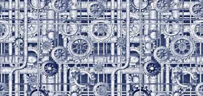 blueprint steampunk
