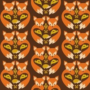 Fox Print Brown