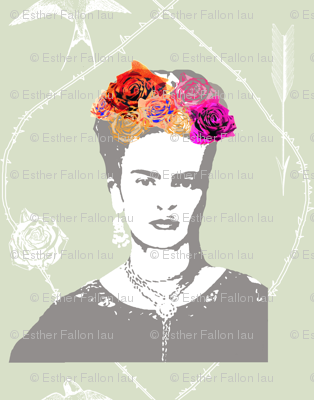 Ode to Frida Kahlo (in mist)