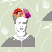 Ode to Frida Kahlo (in mist)