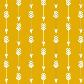 Arrow on Gold