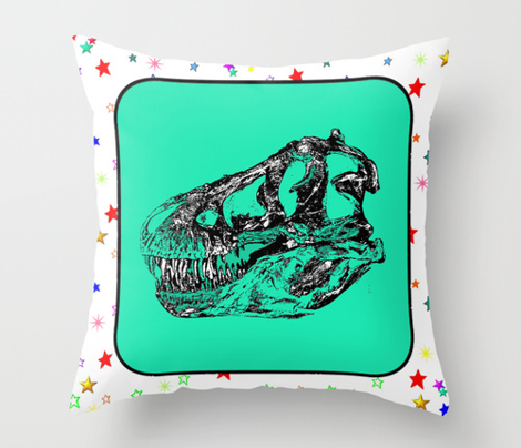 Quilt_block_stars_t_rex_skull_aqua_comment_407396_preview
