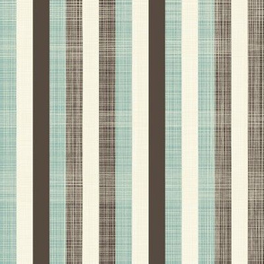 Stripes (dusty blues)