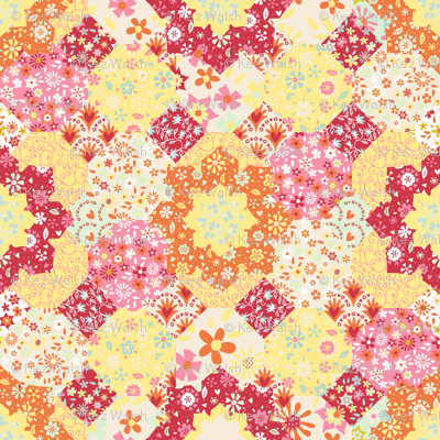 Spring-time patchwork