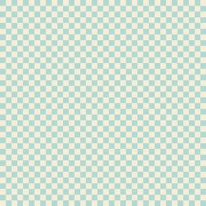 Spring Cheater Quilt Blue_Checks