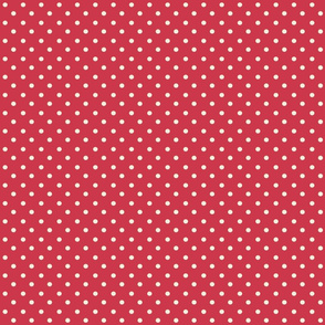 Spring_Cheater Quilt Red___White_Polka_Dots