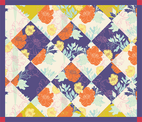 Spring Cheater Quilt