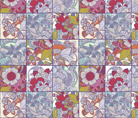Spring Quilt fabric by valentinaharper on Spoonflower - custom fabric