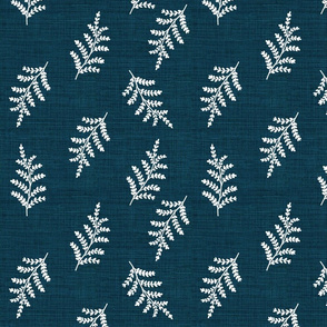 Fern Vintage Botanical on Denim