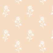 Regency Floral Ecru