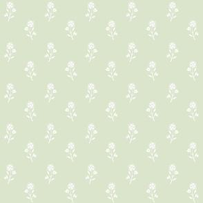 Regency Floral Green