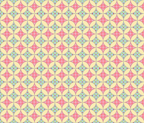 Spring_Windows fabric by flyingmermaid on Spoonflower - custom fabric