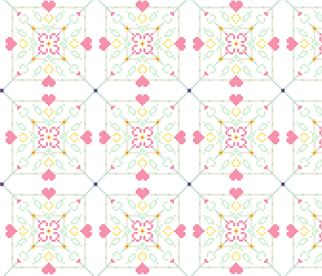 Spring Quilting fabric by iamnotadoll on Spoonflower - custom fabric
