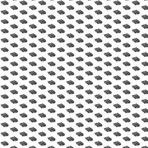 Tiny FU in Black & White