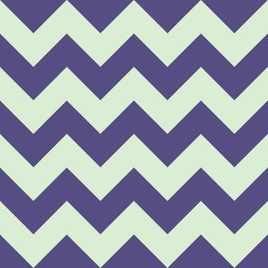 Dandelion Chevrons: Purple