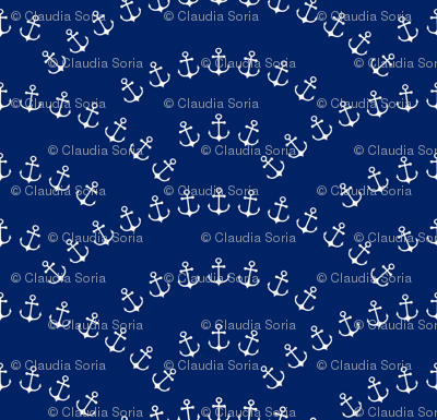 Anchor Waves - Cobalt Blue
