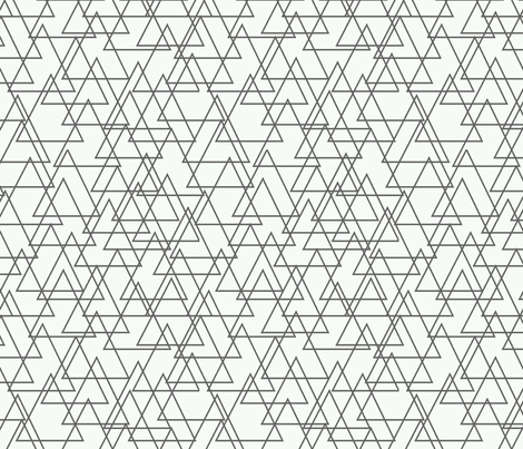 triangles fabric by holli_zollinger on Spoonflower - custom fabric