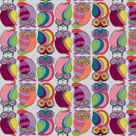 eyes wide shut fabric by ecologies on Spoonflower - custom fabric