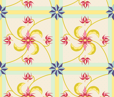 pieceful_fantasy fabric by chesapeaketess on Spoonflower - custom fabric