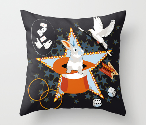 Magic Show Pillow Set
