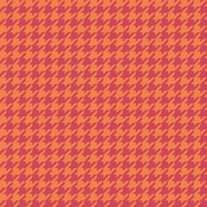 Puppystooth in orange-poppy