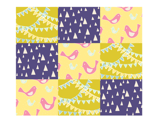 spring_merriment fabric by yolliepops on Spoonflower - custom fabric