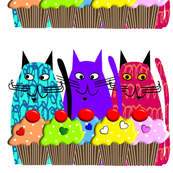 Cupcakes and Cats