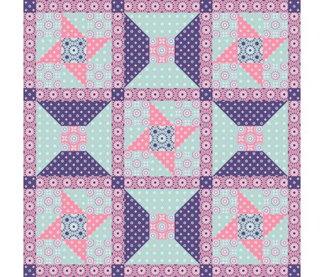 Rrwinding_cotton__star_9_block_setting__spring_floral_pink_shop_preview