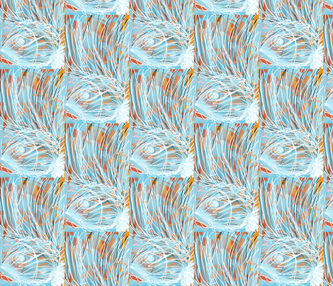 Blue Reef fabric by menny on Spoonflower - custom fabric