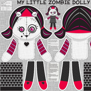 little zombie dolly only