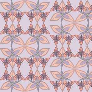 complicated trillium in muted