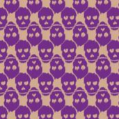Ikat Skulls -